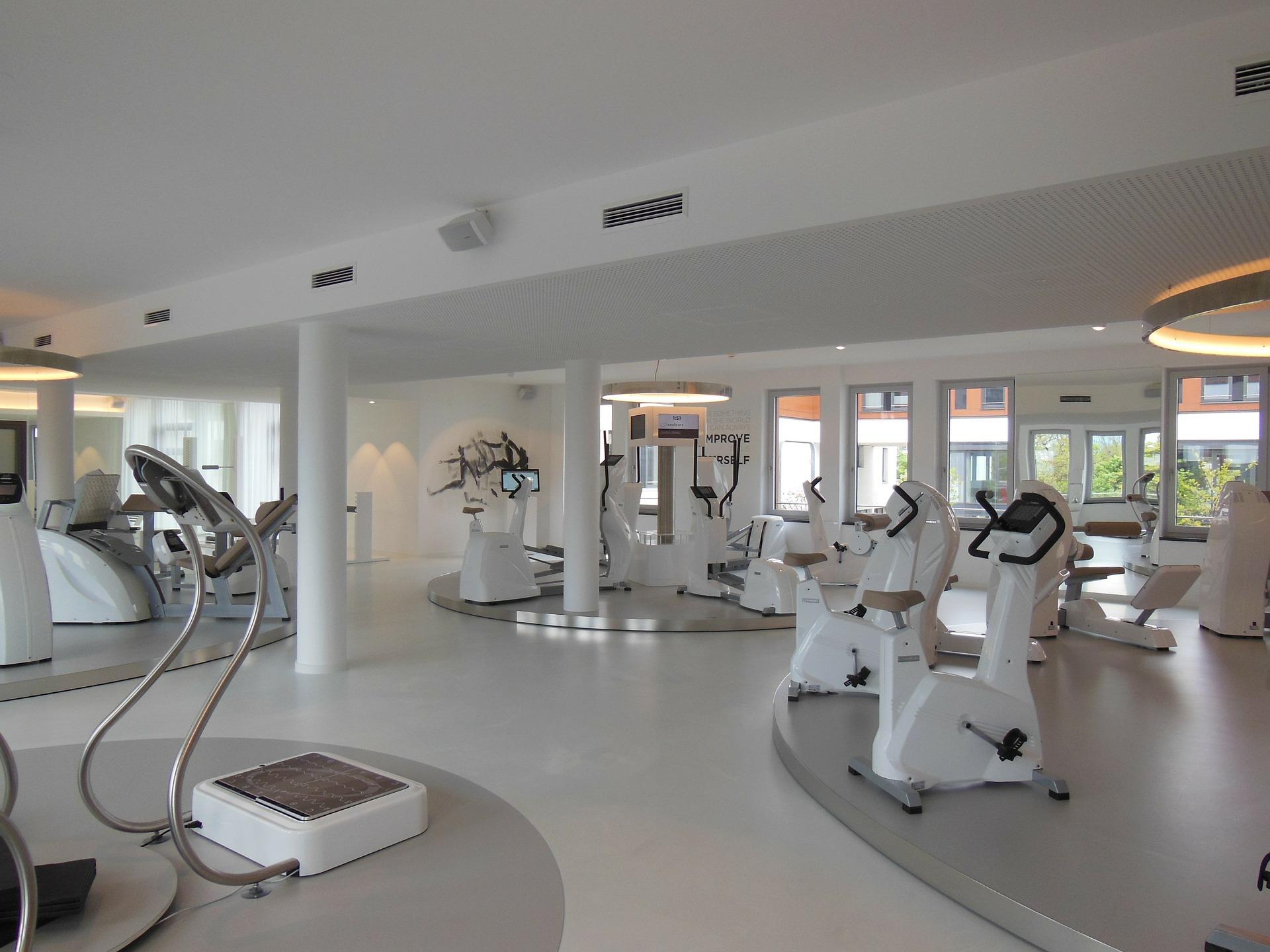 Rad Fitnessgerät