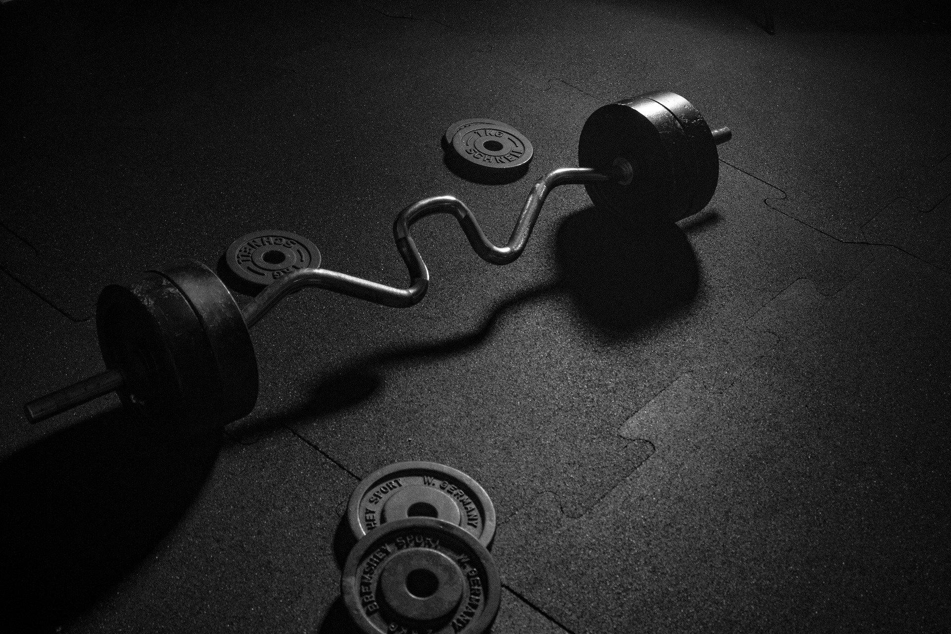 Unterlegmatte Fitnessgerät