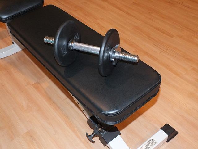Hantelbank bis 200 kg