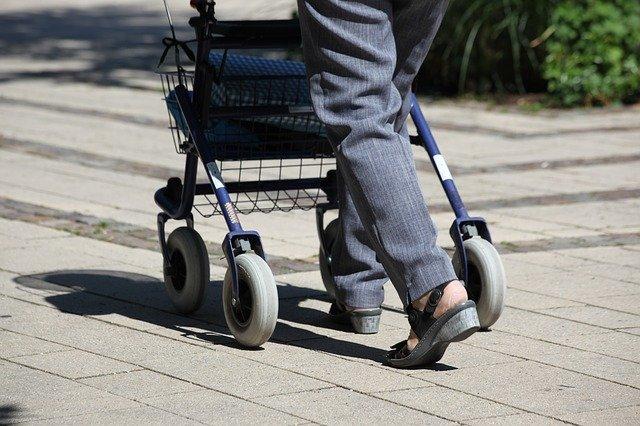 Vibrationsplatte für Senioren