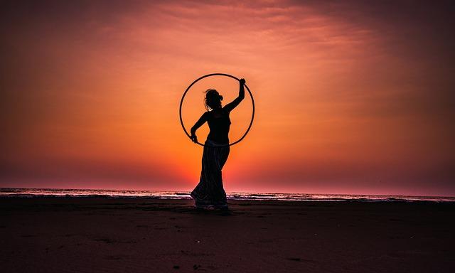 Hula Hoop Reifen Fitness